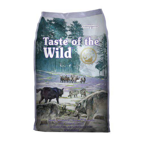 Pienso para perros Taste of the Wild Sierra Mountain Canine con cordero