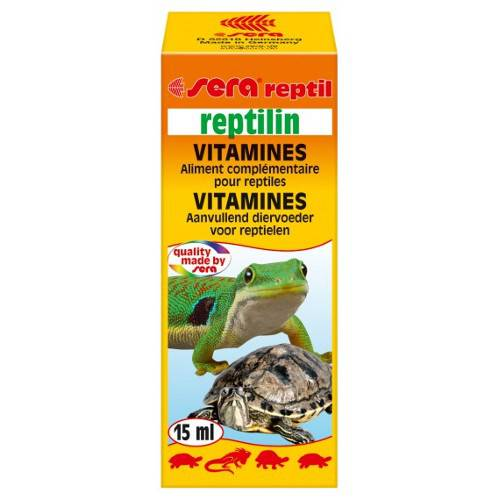 SERA reptilin 15 ml Vitaminas para reptiles