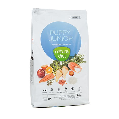 Natura Diet Puppy & Junior pienso para cachorros