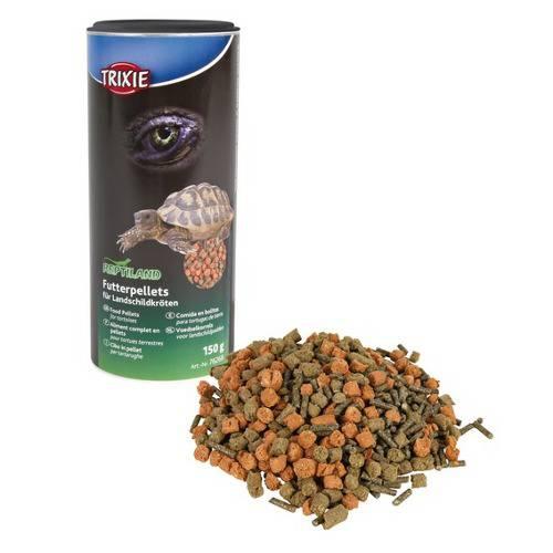 Alimento completo tortugas de tierra en pellets