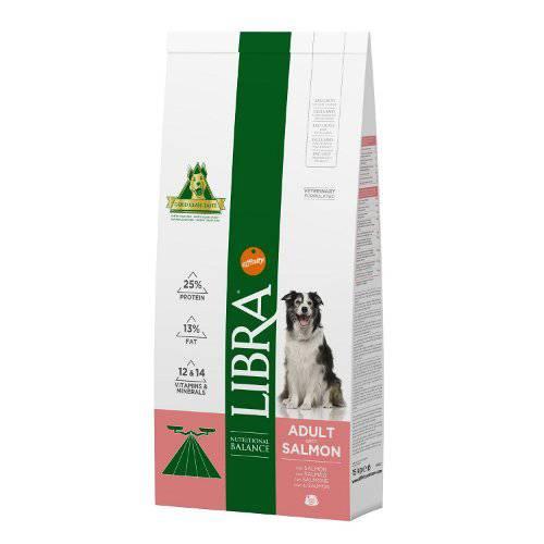 Libra adult salm n pienso para perros tiendanimal for Estanque para perros