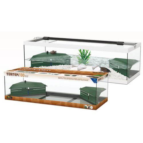 Tortuguera Tortum grande con filtro para tortugas adultas