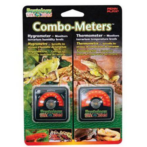 Combo-meters Termómetro+Higrómetro analógico Reptology