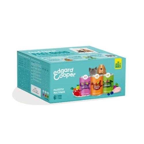 Multipack surtido latas Edgard & Cooper perros