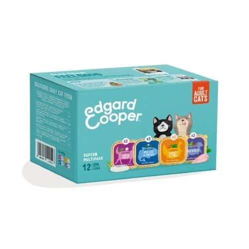 Multipack surtido tarrinas Edgard & Cooper gatos
