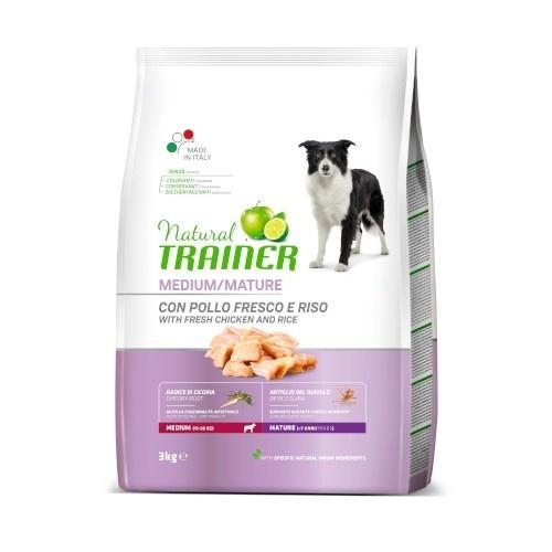 Natural Trainer Maturity Medium Pollo para perros