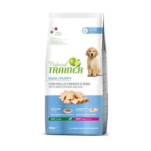 Natural Trainer Puppy Maxi Pollo para perros