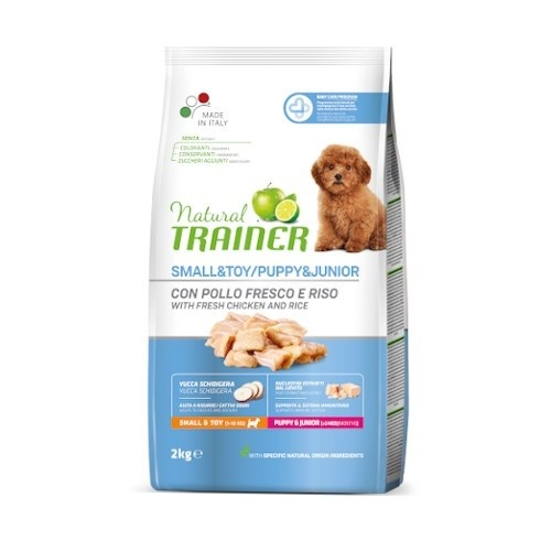 Natural Trainer Puppy Mini Pollo para perros