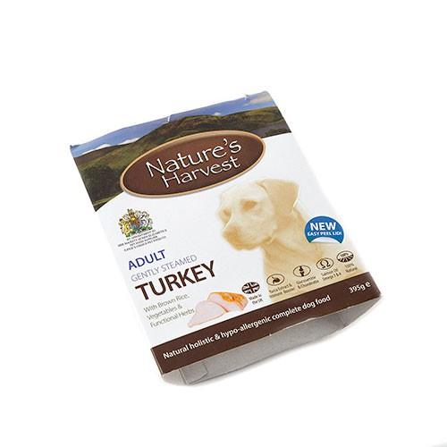 Nature's Harvest Adult Comida húmeda para perros Pavo