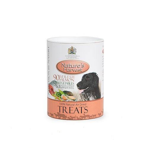 Nature's Harvest Snack para perros Salmón, Vegetales y Mejillón