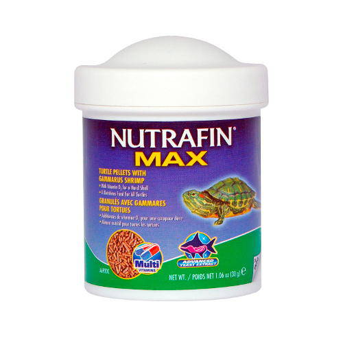Nutrafin Max Alimento para tortugas gammarus Gránulos