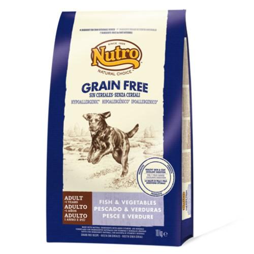 Nutro Grain Free con pescado para perros