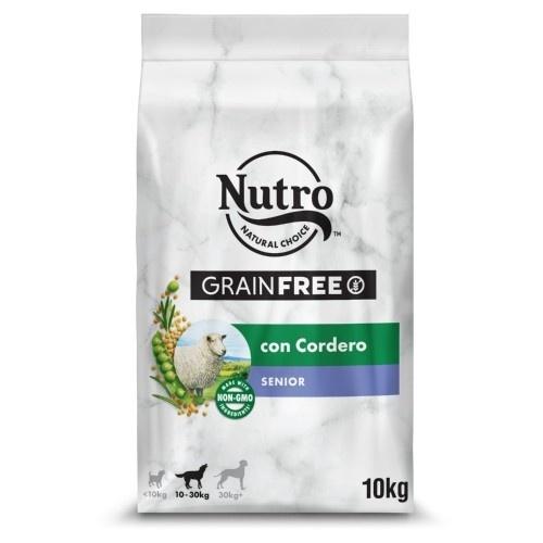 Nutro Grain Free Senior pienso para perros con cordero