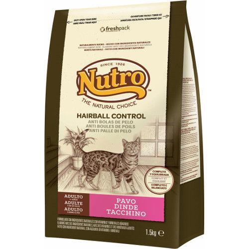 Nutro Natural Choice Hairball Control pienso para gatos con pavo