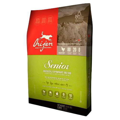 Orijen Canine Senior alimentación natural para perros