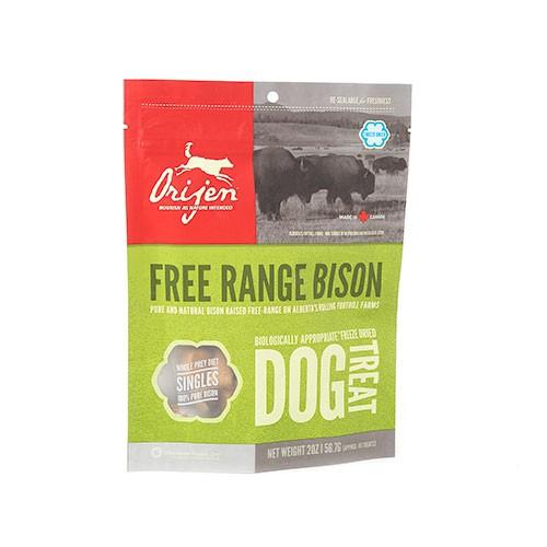 Orijen Treats Bison snack natural de bisonte para perros