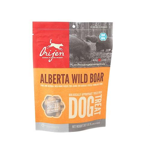 Orijen Treats Wild Boar snack natural de jabalí para perros