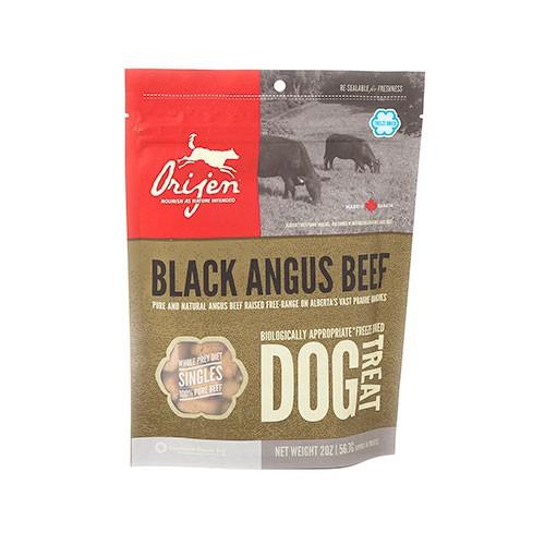 Orijen Treats Angus Beef snack natural de ternera para perros