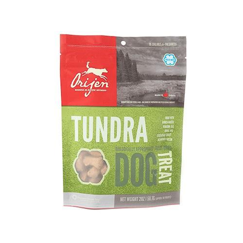 Orijen Treats Tundra Snack natural carne de caza para perros