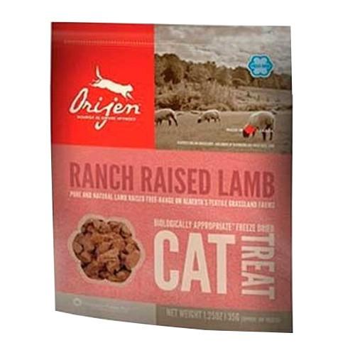 Orijen Treat Lamb snack natural de cordero para gatos