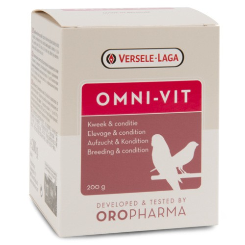 Oropharma Omni-vit multivitamínico para aves