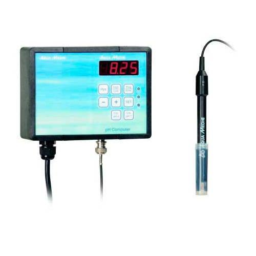 Ordenador regulador de pH para acuarios
