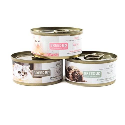 Pack degustación Breed Up de comida húmeda Light