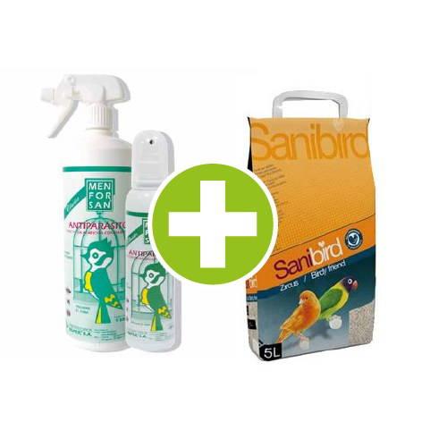 Pack especial de higiene para pájaros