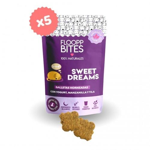 Pack de galletas naturales FlooppBITES Sweet Dreams para perros