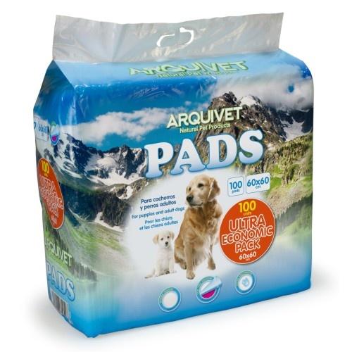 Pack 100 pads para entrenamiento para perros