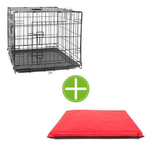 Pack TK-Pet comfortable stay: cage + bed mat