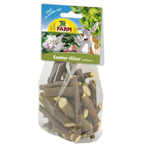 Palitos de madera de manzano JR Farm para roedores y conejos