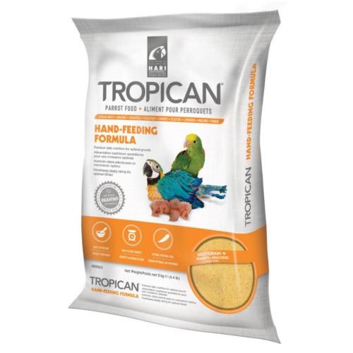 Papilla premium para loros bebé Tropican