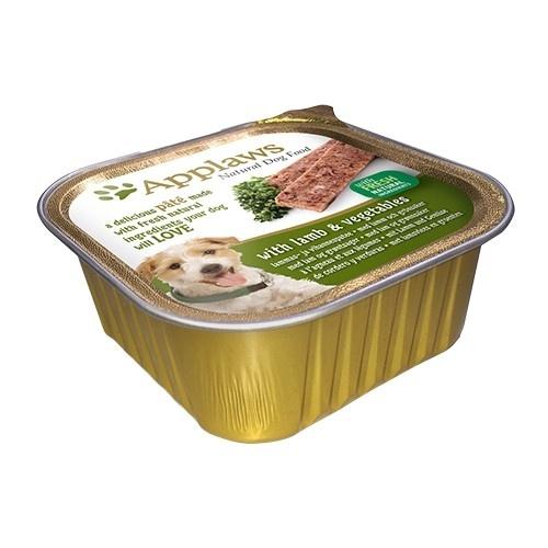 Paté para perros Applaws con sabor a cordero