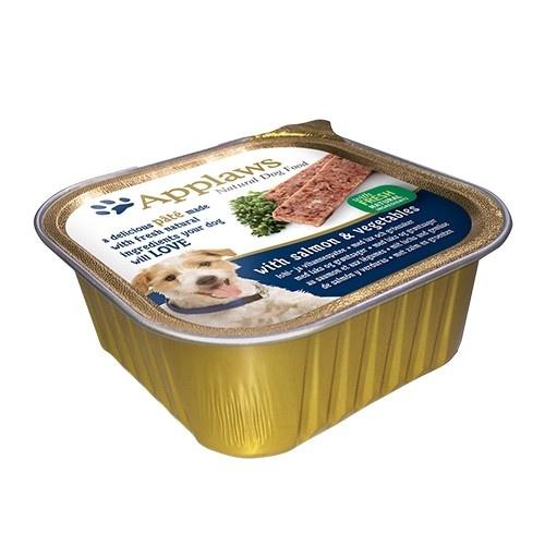 Paté para perros Applaws con sabor a salmón