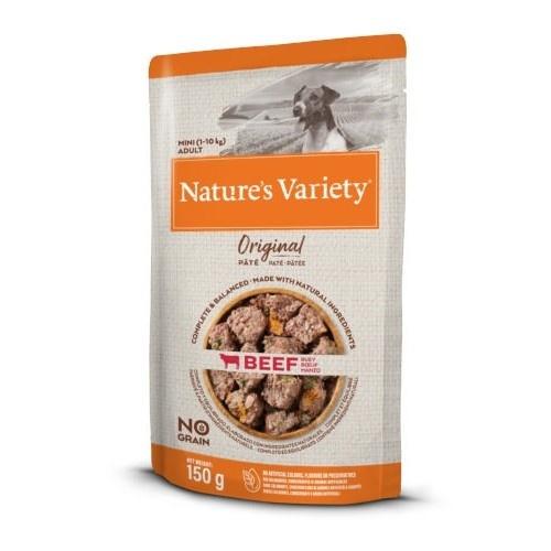 Paté para perros Nature's Variety Original Mini buey con verduras