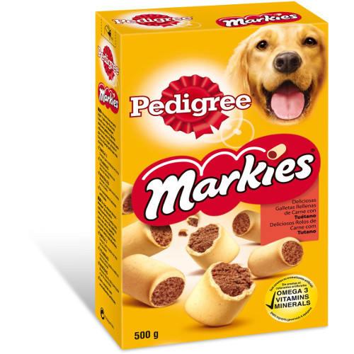 Pedigree Markies galletas para perros rellenas de tuétano