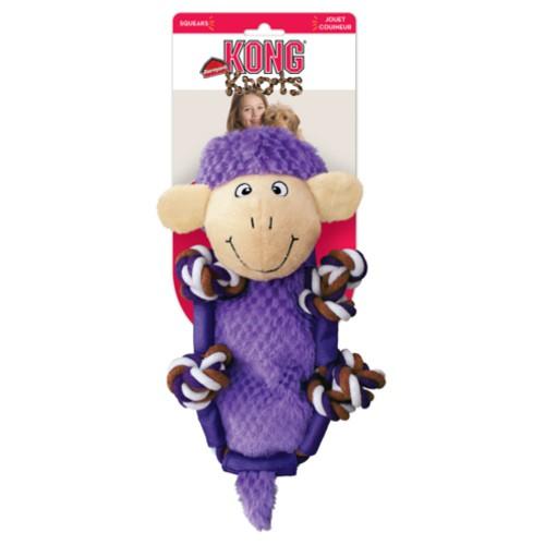 Peluche con cuerda y sonido KONG Barnyard Knots Sheep