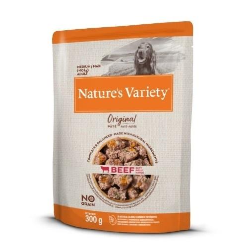 Paté perros Nature's Variety Original Medium/Maxi Buey