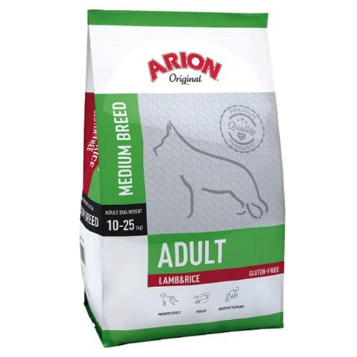 Pienso Arion Original de cordero y arroz para perros medianos