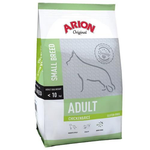 Pienso Arion Original de pollo y arroz para perros pequeños