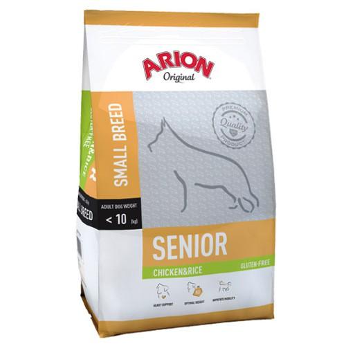 Pienso Arion Original Senior de pollo y arroz para perros pequeños
