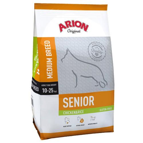 Pienso Arion Original Senior de pollo y arroz para perros medianos