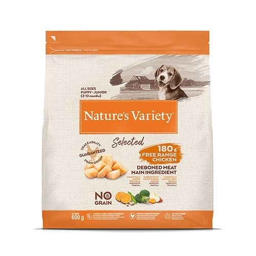 Pienso cachorros Nature's Variety Selected Puppy Pollo