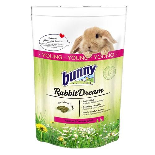 Pienso completo para conejos jóvenes Rabbit Dream Bunny Young