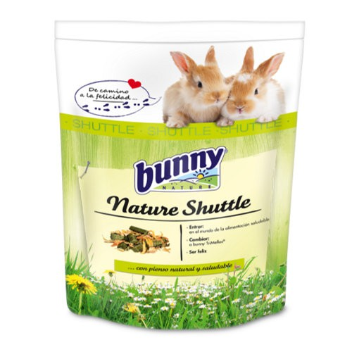 Pienso completo de transición para conejos Nature Shuttle Bunny