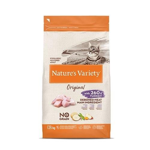 Pienso gatos Nature's Variety Original Sterilized Pavo