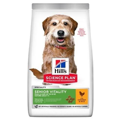 Pienso Hill's Senior Vitality 7+ Small & Mini para perros