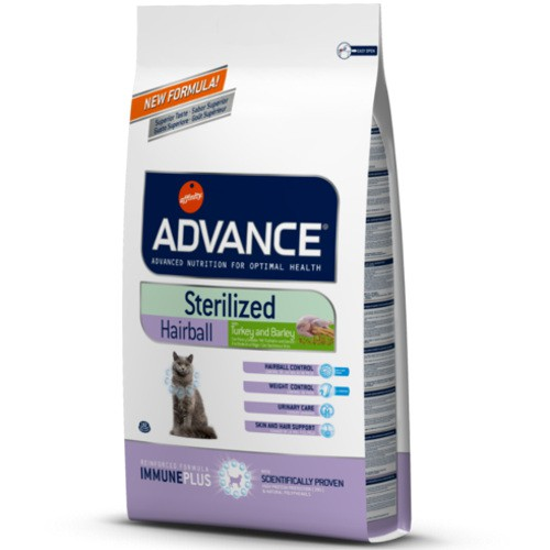Advanced Sterelised Hairball feed for sterelised cats