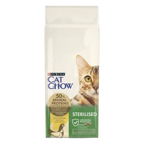 Pienso para gatos esterilizados cat chow sterilised - Alimento para gatos esterilizados ...